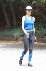 ALESSANDRA AMBROSIO Out Hiking in Los Angeles 04/10/2016
