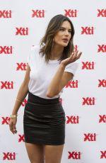 ALESSANDRA AMBROSIO Present Xti New Collection in Madrid 04/29/2016