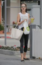 ALESSANDRA AMROSIO Out in Los Angeles 04/06/2016