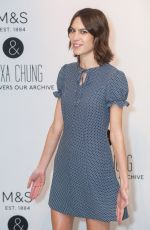 ALEXA CHUNG at Archive by Alexa Launch in London 04/12/2016