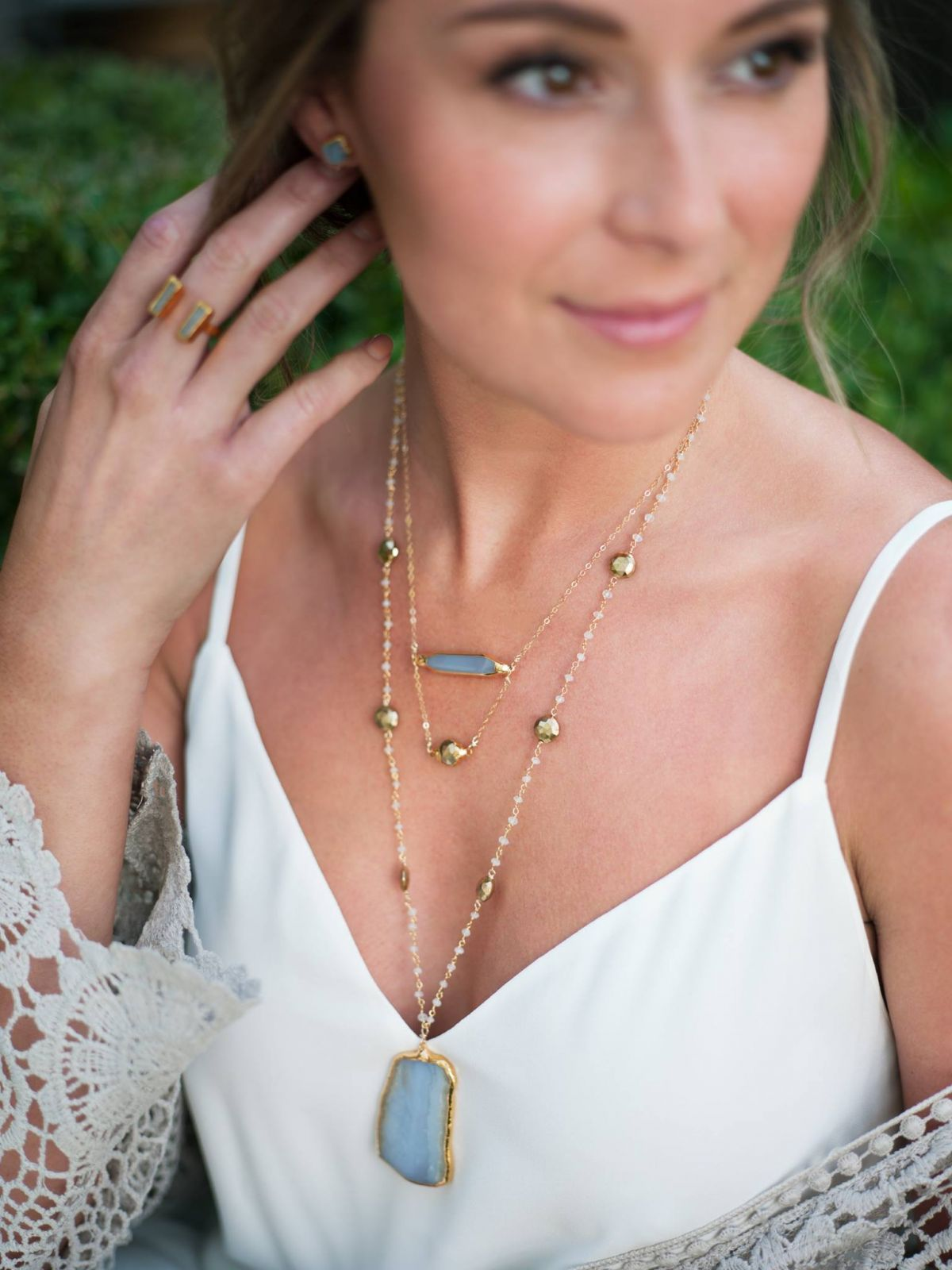 ALEXA VEGA for Robyn Rhodes Jewelry, Spring/Summer 2016