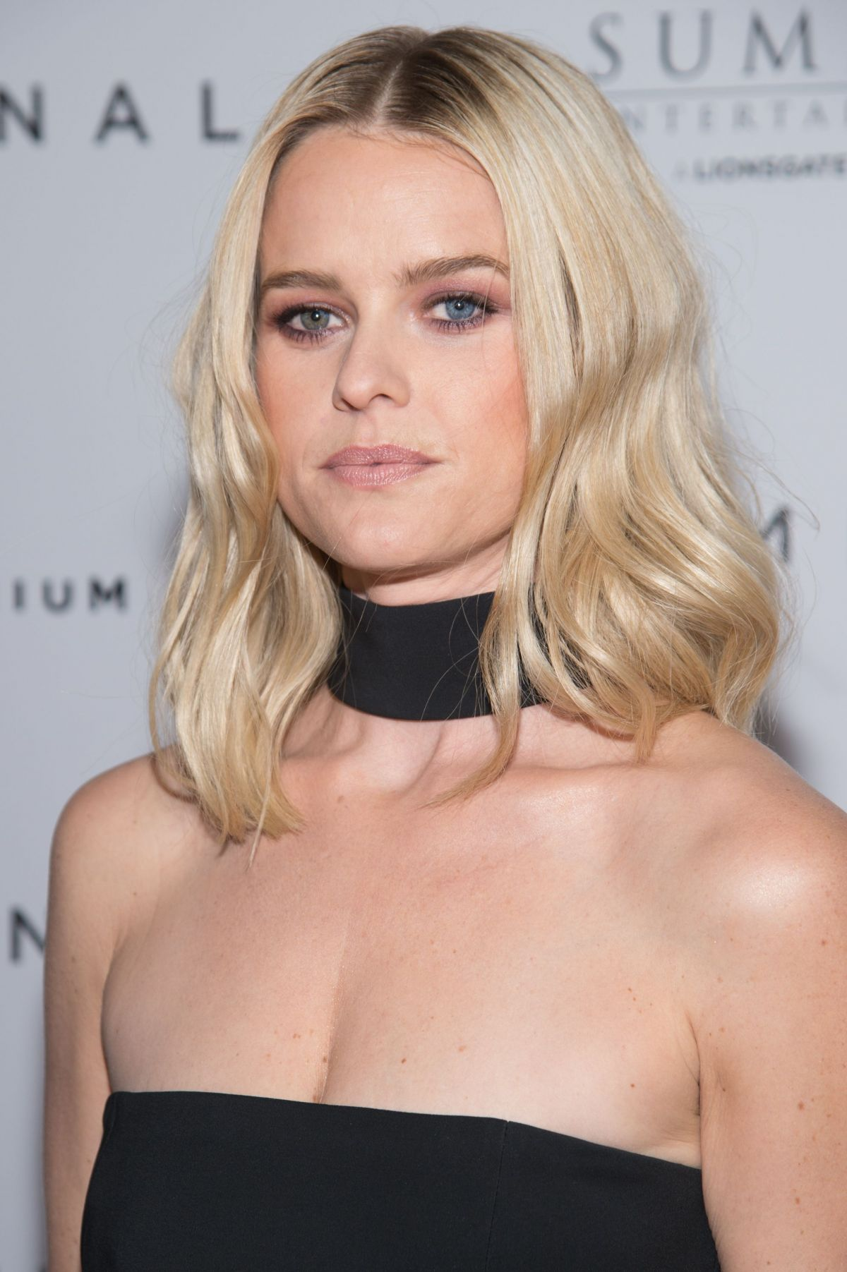 ALICE EVE at Criminal Premiere in New York 04/11/2016 - HawtCelebs