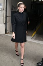 ALICE EVE Leaves Huffpolive Studios in New York 04/11/2016