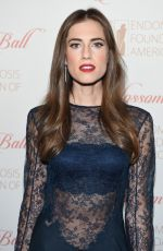 ALLISON WILLIAMS at 8th Annual Blossom Ball Benefiting Endometriosis Foundation of America in New York 04/19/2016