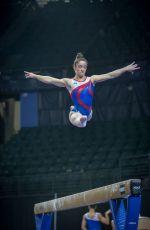 ALY RAISMAN at 2016 Pacific Rim Gymnastics Championships in Everett 04/07/2016