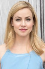 AMANDA SCHULL at AOL Studios in New York 04/12/2016