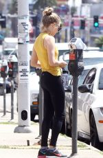 AMANDA SEYFRIED at a Gym in Hollywood 04/21/2016