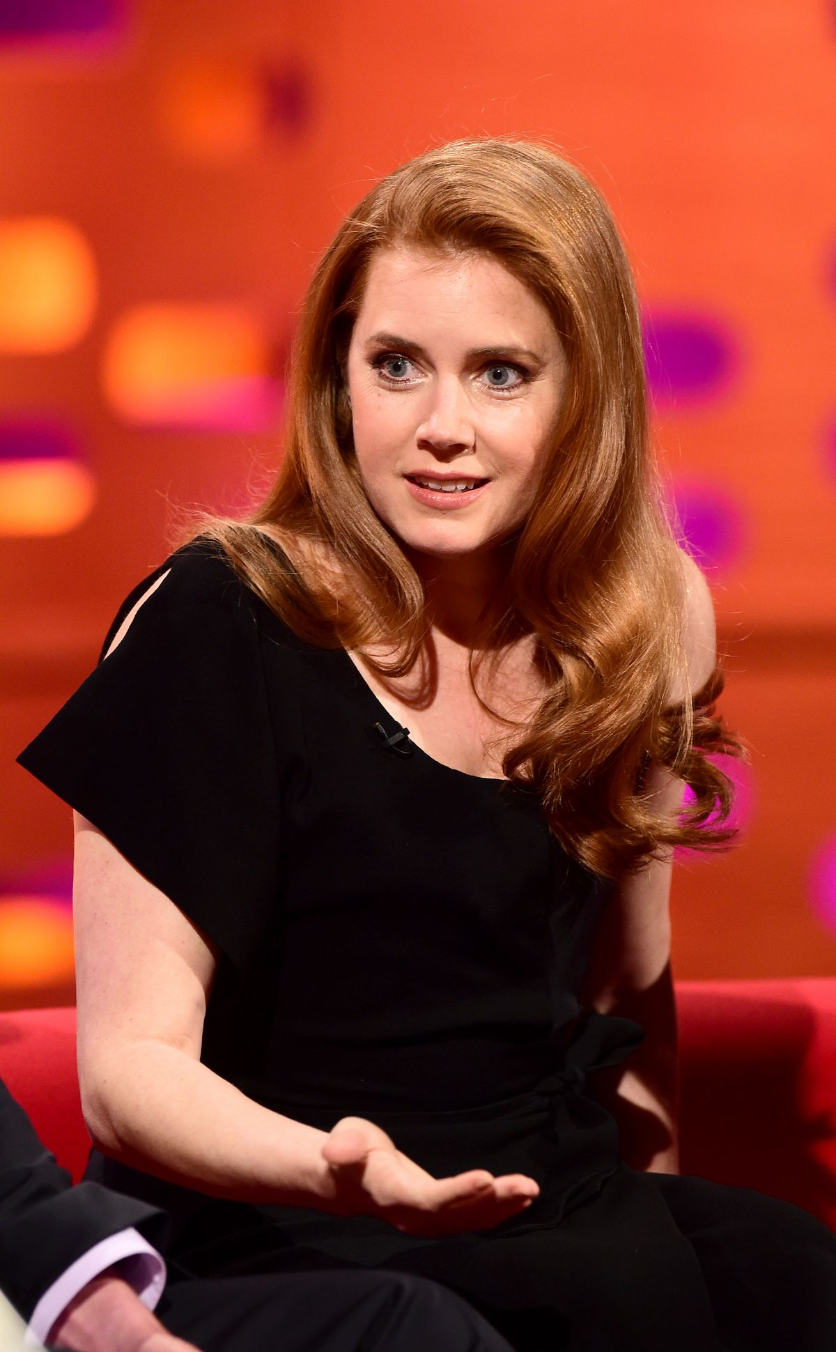 AMY ADAMS at The Graham Norton Show in London 03/31/2016