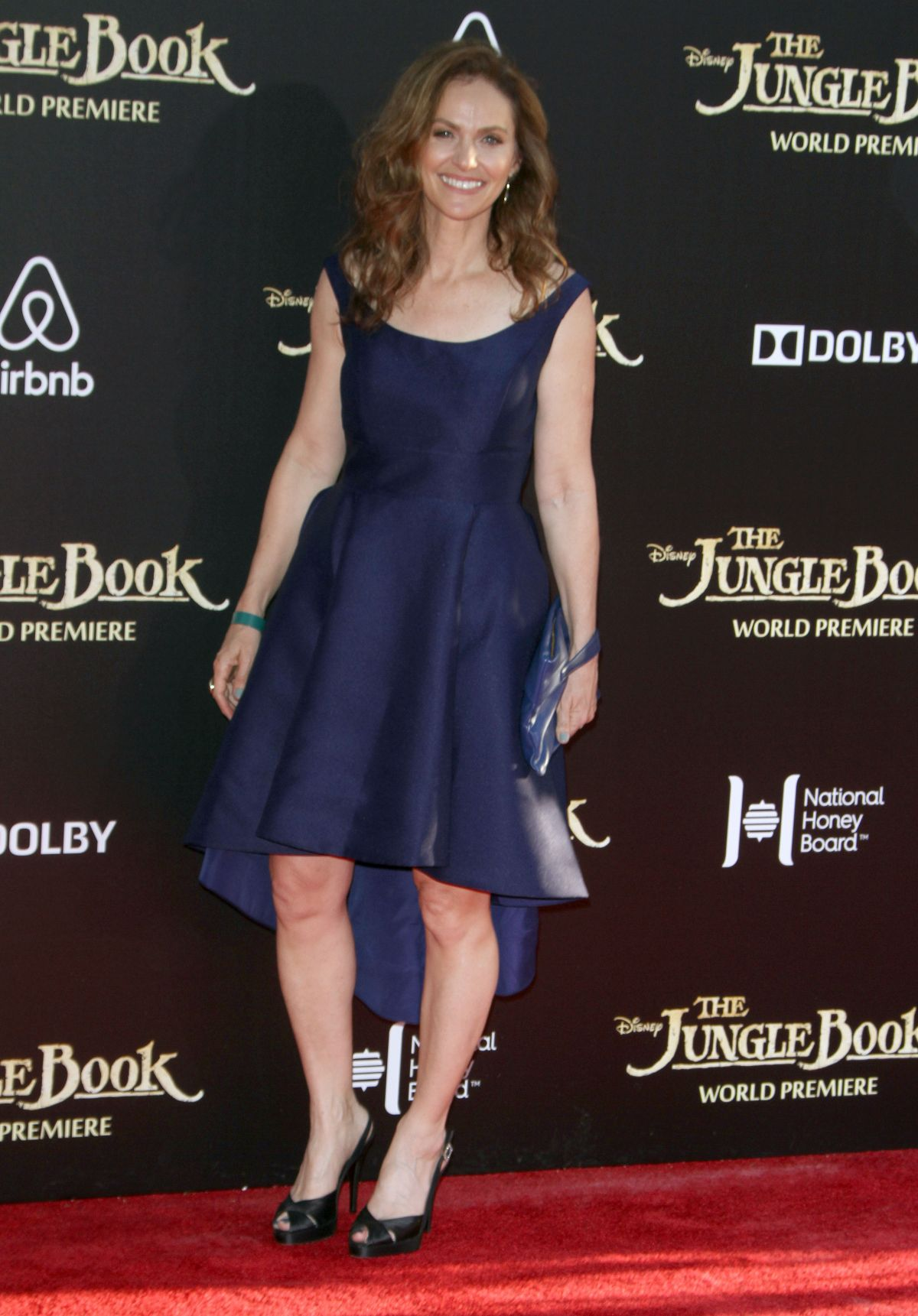 AMY BRENNEMAN at 'The Jungle Book' Premiere in Hollywood 04/04/2016