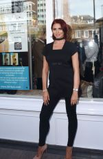 AMY CHILDS at Her Salon Relaunch Party in Brentwood 04/12/2016
