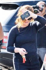 AMY POEHLER Leaves Bristol Farms in West Hollywood 04/26/2016