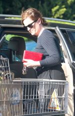AMY POEHLER Shopping at Bristol Farms in Beverly Hills 04/20/2016