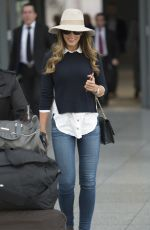 AMY WILLERTON at Heathrow Airport in London 04/20/2016