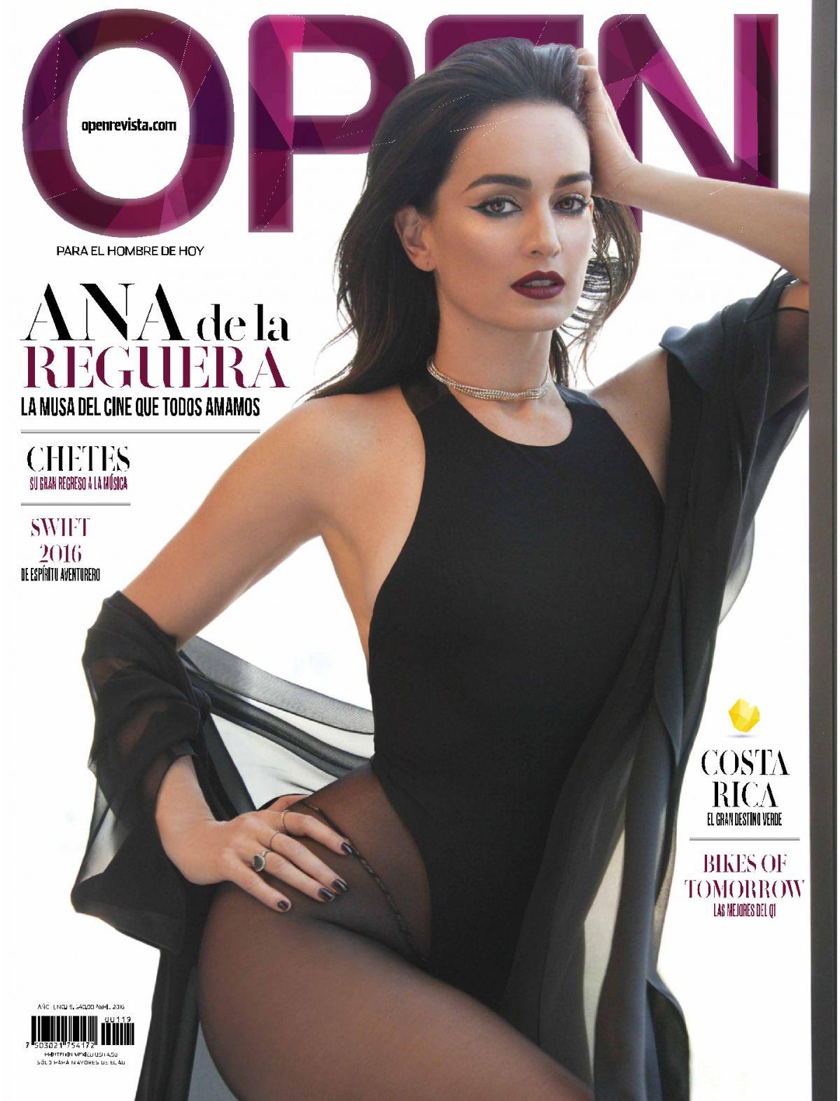 ANA DE LA REGUERA in Open Magazine, Mexico April 2016 Issue