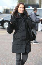 ANDREA MCLEAN Arrives at ITV Studios in London 04/29/2016