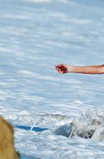 ANGELICA BRIDGES on Set of Baywatch Themed 138 Water Photoshoot in Malibu 04/04/2016