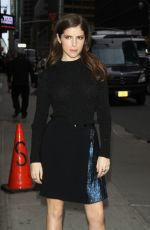 ANNA KENDRICK Arrives at