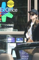 ANNA KENDRICK at a Fedex Office Store in Sherman Oaks 04/29/2016