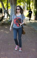 ANNA KENDRICK at Alfred Coffee & Kitchen in West Hollywood 03/31/2016