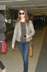 ANNA KENDRICK at Los Angeles International Airport 04/07/2016