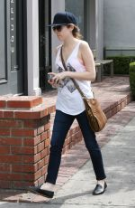 ANNA LENDRICK Out and About in Beverly Hills 04/11/2016