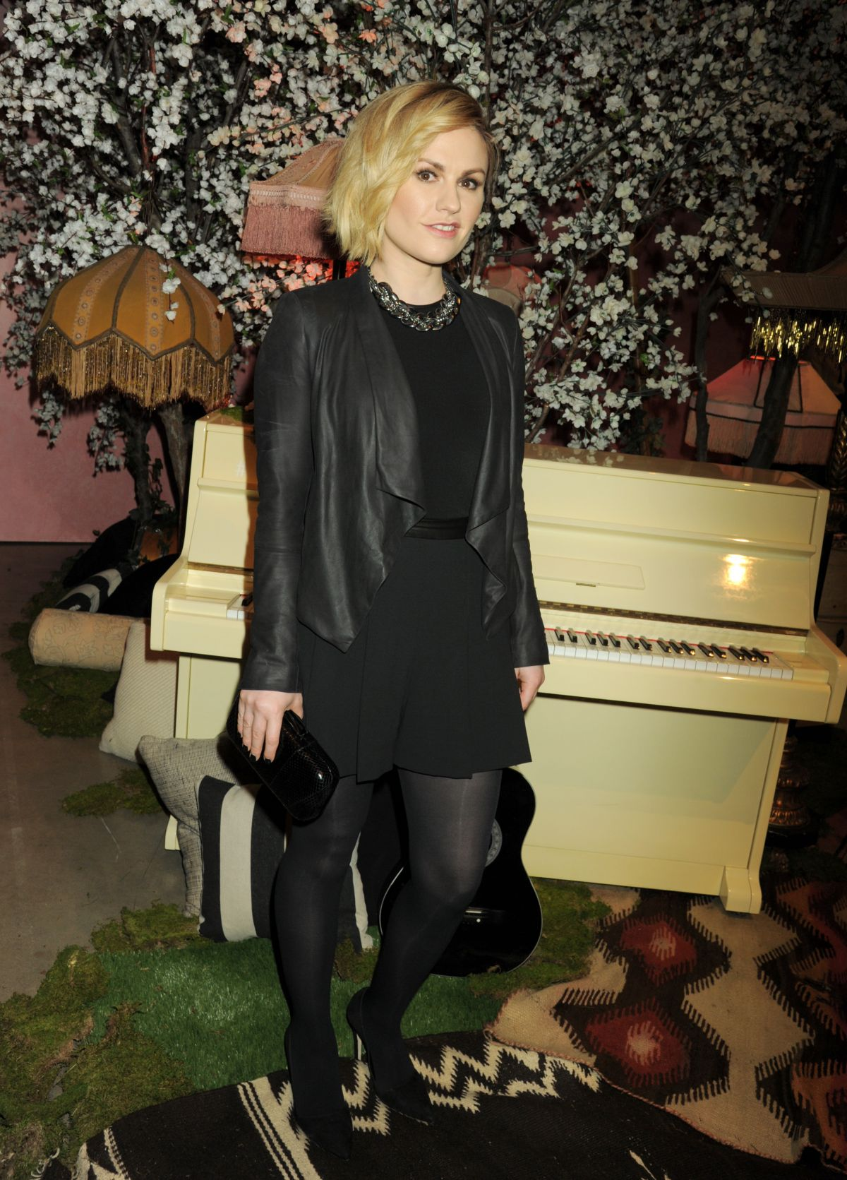 ANNA PAQUIN at Alice + Olivia by Stacey Bendet and Neiman Marcus Show in Los Angeles 04/13/2016