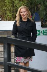 ANSTACIA Leaves ITV Studios in London 03/22/2016