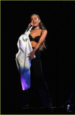ARIANA GRANDE Performs at Takeover-T-Mobil Arena in Las Vegas 04/07/2016