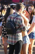 ARIEL WINTER at Coachella Valley Music and Arts Festival in Indio 04/23/2016
