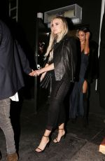 ASHLEE SIMPSON at Nice Guy in West Hollywood 04/28/2016