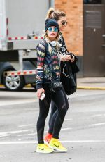 ASHLEY BENSON Out and About in New York 04/07/2016