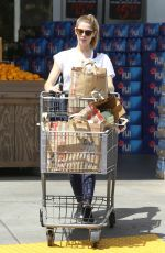 ASHLEY GREENE Shopping at Bristol Farms in Los Angeles 04/22/2016