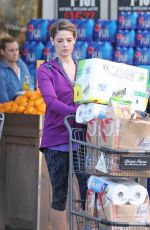 ASHLEY GREENE Shopping Groceries at Bristol Farms in Beverly Hills 04/11/2016
