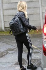 ASHLEY JAMES Out and About in London 04/22/2016