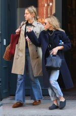 ASHLEY OLSEN Out for Lunch in New York 04/27/2016