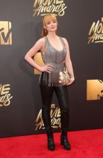 ASHLEY RICKARDS at 2016 MTV Movie Awards in Burbank 04/09/2016