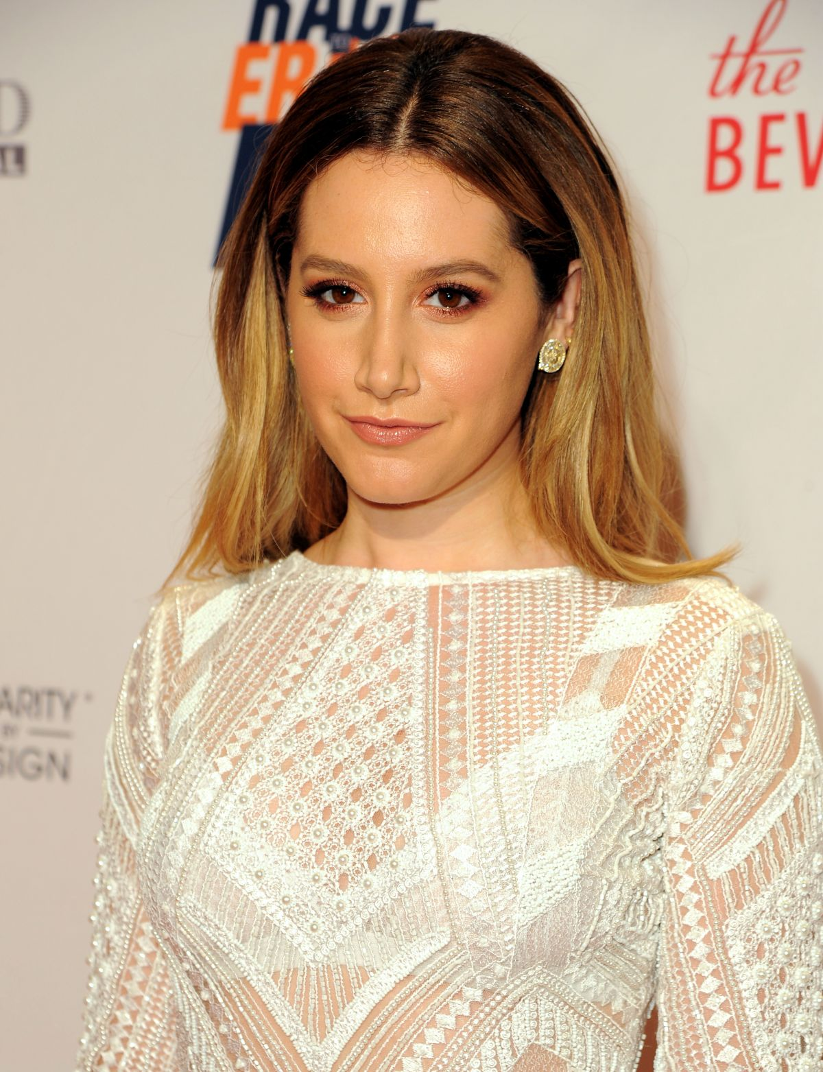 ASHLEY TISDALE at 23rd Annual Race To Erase MS Gala in Beverly Hills 04/15/2016