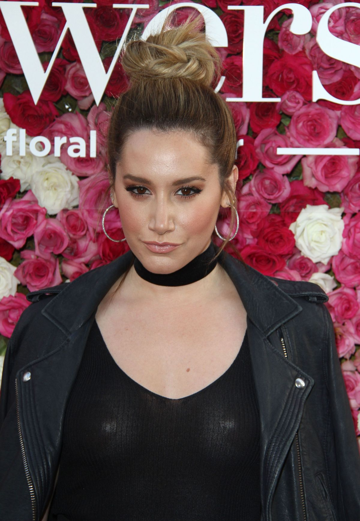 Ashley tisdale see through top on mothers day premiere