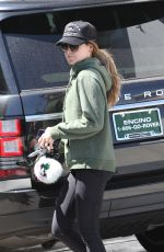 ASHLEY TISDALE Leaves a Gym in Beverly Hills 03/31/2016