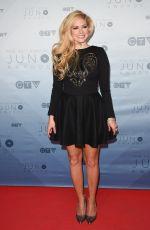 AVRIL LAVIGNE at Juno Awards in Calgary 04/03/2016
