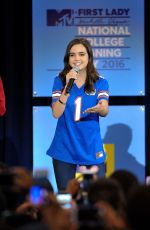 BAILEE MADISON at 3rd Annual College Signing Day in New York 04/26/2016