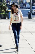BAILEE MADISON Out and About in Vancouver 04/01/2016