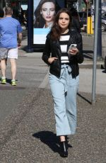 BAILEE MADISON Out in Vancouver 03/30/2016