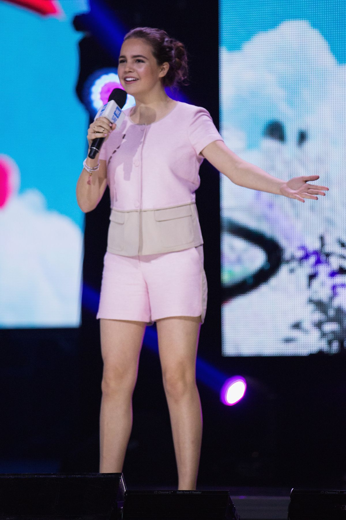 BAILEE MADISON Performs at We Day at Keyarena in Seattle 04/20/1016