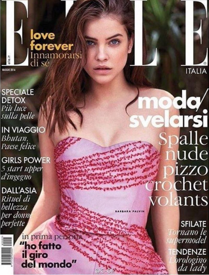 BARBARA PALVIN in Elle Magazine, Italy May 2016 Issue