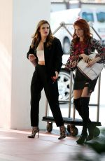 BELLA and DANI THORNE Arrives at Their Hotel in Miami 04/06/2016