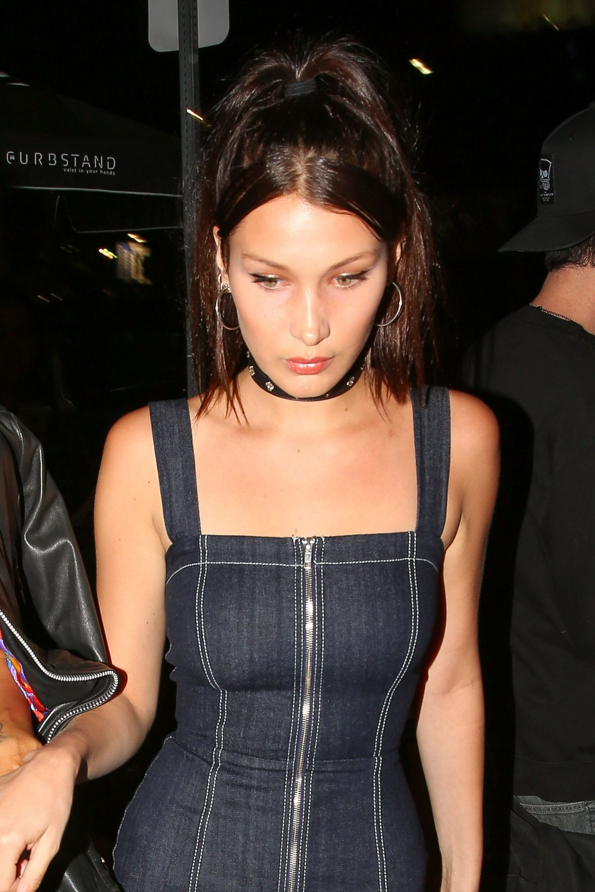 BELLA HADID Arrives at Nice Guy in West Hollywood 04/20/1016