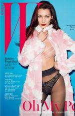 BELLA HADID in W Magazine, Korea May 2016 Issue