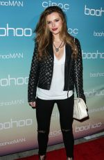BELLA THORNE at boohoo.com Flagship LA Pop Up Store Launch in Los Angeles 04/01/2016