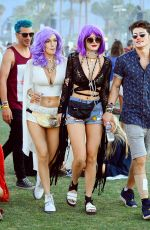 BELLA THORNE at Coachella Valley Music and Arts Festival, Day Three, 04/17/2016
